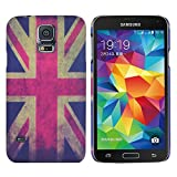 Heartly Cartoon Printed Design High Quality Hard Bumper Back Case Cover For Samsung Galaxy S5 i9600 - London Flag