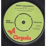 """BROKEN ENGAGEMENTS 7 INCH (7"""" VINYL 45) UK LABEL 1973"""
