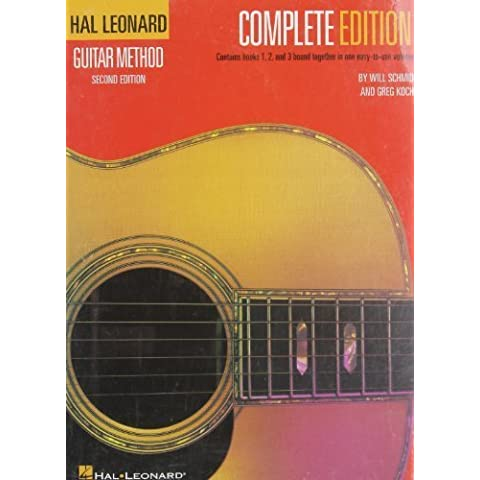 Hal Leonard Guitar Method, - Complete Edition: by Schmid, Will, Koch, Greg (1980) Plastic Comb