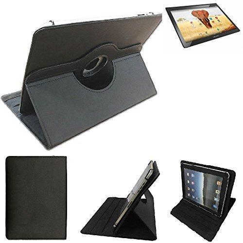 K-S-Trade Archos 101 Magnus + Schutz Hülle 360° Tablet Case Schutzhülle Flip Cover für Archos 101 Magnus +, schwarz. Tablet Hülle drehbar Standfunktion Ultra Slim Bookstyle Tasche Ku