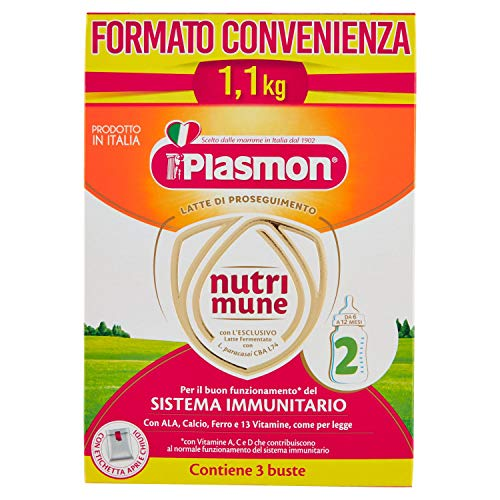 Plasmon latte polvere stage 2 - special pack - 1100 g