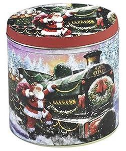 Boîte train d'hiver Noël Boîte à thé Boîte à café 12x 14x 7cm Hiver