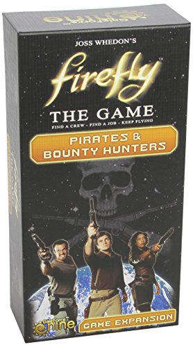 Gale Force 9 GF9FIRE4 - Firefly - Pirates and Bounty Hunters Expansion, Brettspiel