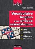 Image de Vocabulaire anglais pour les prépas scientifiques : Vocabulaire thém