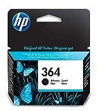 HP 364 cartouche d'encre noire authentique pour HP DeskJet 3070A et HP Photosmart...