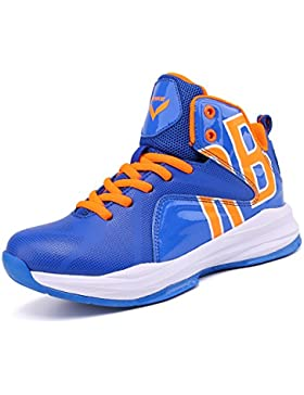 [Patrocinado]ASHION Zapatos de Baloncesto Para Niños