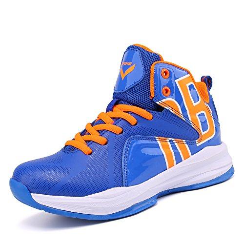 Elaphurus Jungen Basketballschuhe Sportschuhe Mädchen Turnschuhe Kinder Sneaker Outdoor Laufschuhe (Jordan Basketball-schuhe Mädchen)