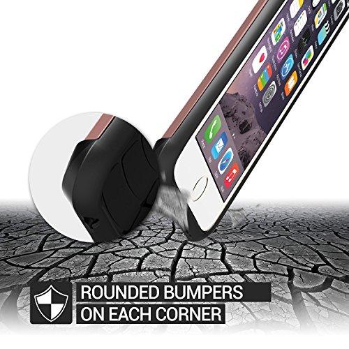 Verus Thor harte Bumper Schutzhülle für Apple iPhone 6 Plus Hot Pink Rose Gold