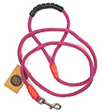 #3: The Pets Company Dog Nylon Rope Leash for Medium and Large Dogs, Purple Pink