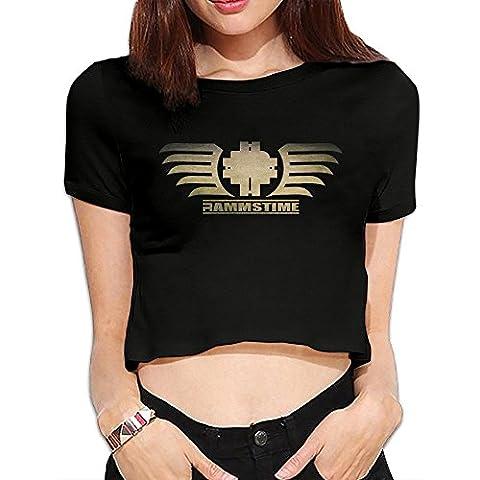 Nana Crop Top - T-Shirt à manches longues - Homme - Noir - S