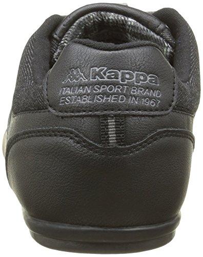 Kappa Bridgmani, Baskets Basses Noires Pour Homme (noir (noir / Phantom / Gris Dk))