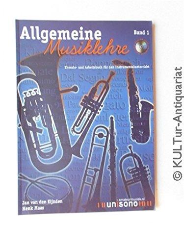 Allgemeine Musiklehre, m. Audio-CD