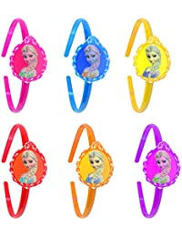Confidence Combo Of Return Gift For Kids Girls Fancy Hair Band With Cartoon Print, Multicolor, Set Of 6, 20 Gram...