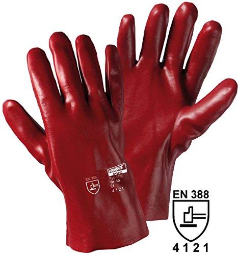 Gants de protection Leipold + Döhle 1480 PVC EN 388 RISQUES MECANIQUES 4121 Taille 10 (XL)