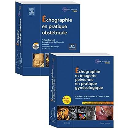 Echographie en pratique gynécologique et obstétricale - Pack 2 tomes