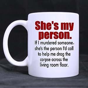 Très drôle Grey's Anatomy-Tasse de café ou de thé, tasses en céramique Blanc 11 ml