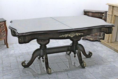 Barock großer Esstisch Tisch 1 antik Stil Massivholz. Replizierte Antiquitäten von LouisXV Buche (Ahorn, Mahagoni, Eiche) Antikmessing Beschläge, furniert, intarsiert (Esstisch Antik Mahagoni)