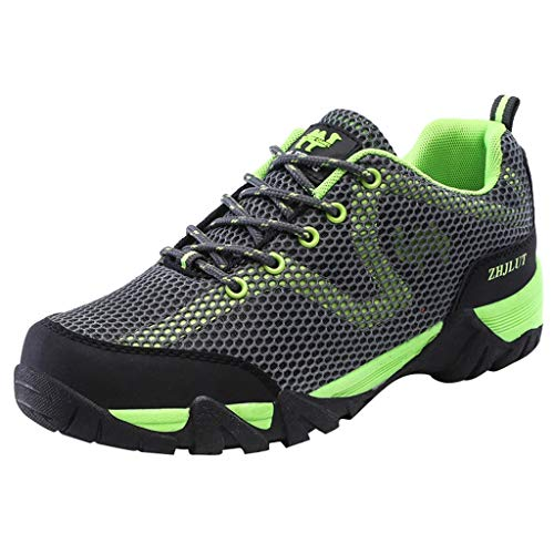 MMLC_Scarpe da Trekking Running Resistente all'Usura Sneakers Basse Interior Casual all'Aperto Scarpe Slip-On Traspiranti Scarpe da Trail Running Uomo