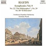 Haydn: Symphonies, Vol. 9 (Nos. 22, 29, 60)