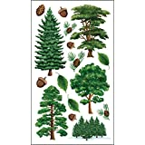 Sticko Stickers-Majestic Trees