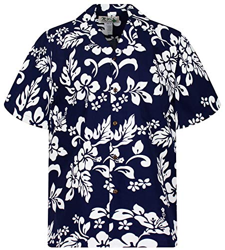 KY's Original Hawaiihemd, 81, blau, XL -