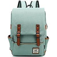 HASAGEI Vintage Unisex Casual School Bag Travel Laptop Backpack Rucksack Daypack Tablet Bags