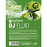 Cameo AHCLFDJ5L Medium Density Life DJ Fluid for Fog Machine