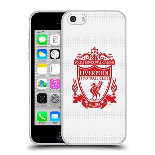 Ufficiale Liverpool Football Club Home Colori Design Crest Cover Morbida In Gel Per Apple iPhone 6 / 6s Rosso Away