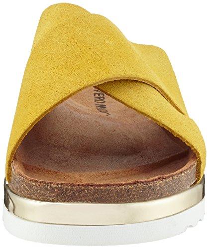 VERO MODA DamVmlisa Leather  Sandalen Gelb (Celery)