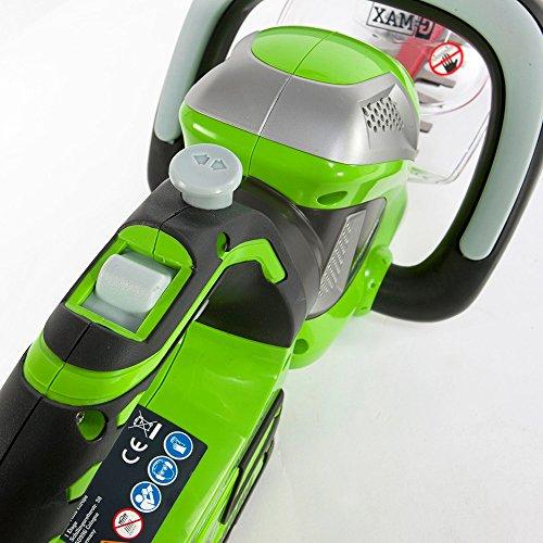 Greenworks Tools Akku-Heckenschere Doppelmesser