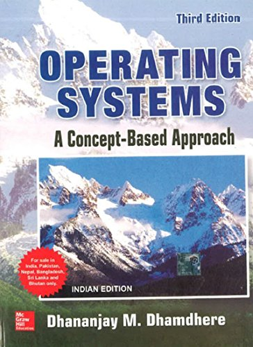 Operating Systems a Concept Based Approach