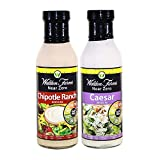 Walden Farms Almost Zero Calorie CAESAR and CHIPOTLE RANCH Dressing 340g