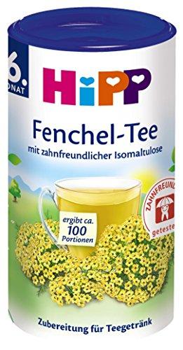 HiPP Fenchel - Tee zahnfreundlich, 3er Pack (3 x 200 g)