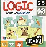 Headu Headu-IT20751 1041735-Logic! Opinión y síntesis Pensamiento lógico- Juego Infantil Educativo Stem, (IT20751)