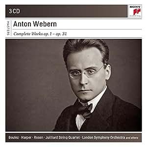 Anton Webern : Oeuvre intégrale
