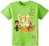 #1: Mighty Raju Movie Theme T-shirt - Green