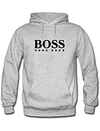 Hugo Boss Mens Pullover Hoodies Casual Sweatshirts