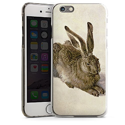 Apple iPhone 4 Housse Étui Silicone Coque Protection Lapin Lapin Levraut CasDur transparent