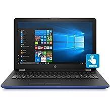"HP Touchscreen 15.6"" HD Notebook - AMD A9-9420 DC Processor - 8GB Memory - 2TB Hard Drive - Optical Drive - HD Webcam - Marine Blue"