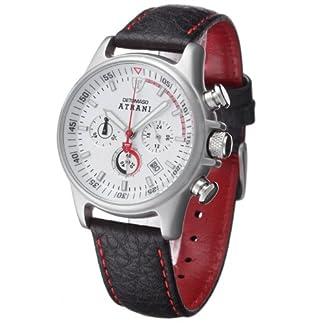 DeTomaso MTL8802C-CH1 – Reloj de Caballero de Cuarzo, Correa de Piel Color Negro
