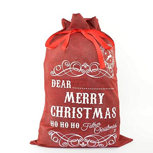 SHATCHI - Saco de Navidad 70 x 50 cm
