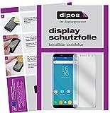 dipos I 2X Schutzfolie klar passend für Oukitel C8 Folie Bildschirmschutzfolie