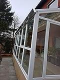 Wintergarten isoliert 1,3 kW Terrassendach Alu Terrassenüberdachung Überdachung