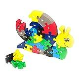 small foot company - Puzzle de Caracol con abecedario