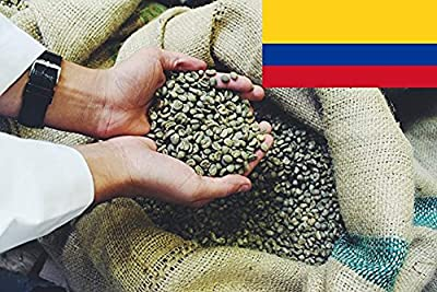 Colombian Excelso Green Coffee Beans - Unroasted Raw - Perfect for Home Roasting from Hand Roasted Coffee Warehouse