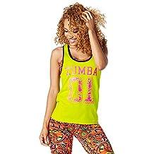 Zumba Fitness Team Tank Top, todo el año, mujer, color Zumba Green, tamaño large