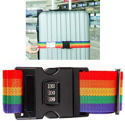 TrAdE shop Traesio- Gurt Bandage Gürtel Kombination Gepäck Reise Koffer Koffer -