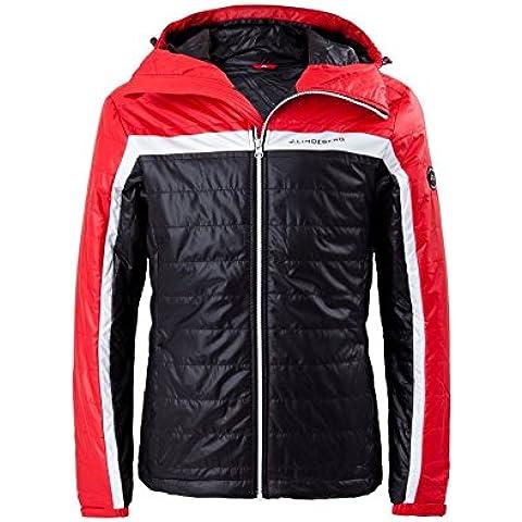 J. lindenberg giacca invernale Alaska Liner Pertex per uomo Red Intense 4214XL