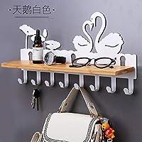 Joeesun Creative Key Wall Hanging Door Hook Coat Rack Wall Hanging Hook Free Punch Jewelry Rack