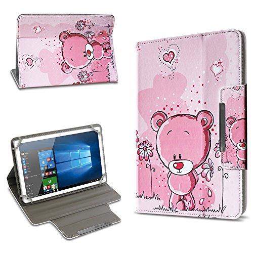 UC-Express Universal Tablet Schutz Hülle 10-10.1 Zoll Tasche Schutzhülle Tab Case Cover Bag, Motiv:Motiv 5, Tablet Modell für:ARCHOS 101c Platinum